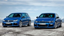 VW Golf R and Scirocco R