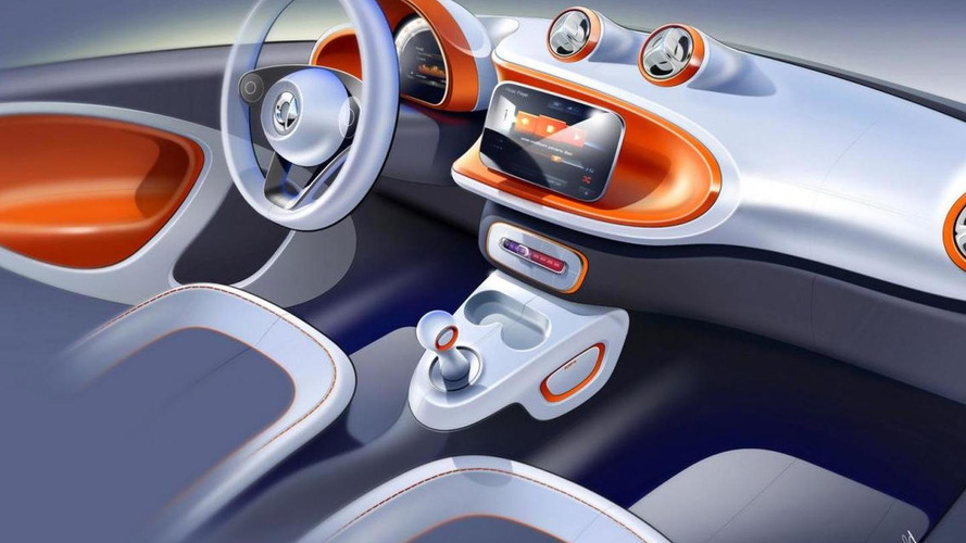 2015 Smart ForTwo sketches released, model debuts tomorrow night