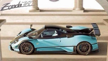 Pagani Zonda X under development