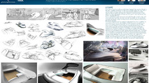 Pininfarina student design concepts of the future exhibited