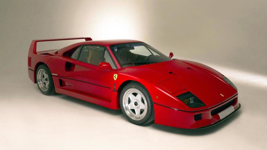 Unique Ferrari F40 going up for auction