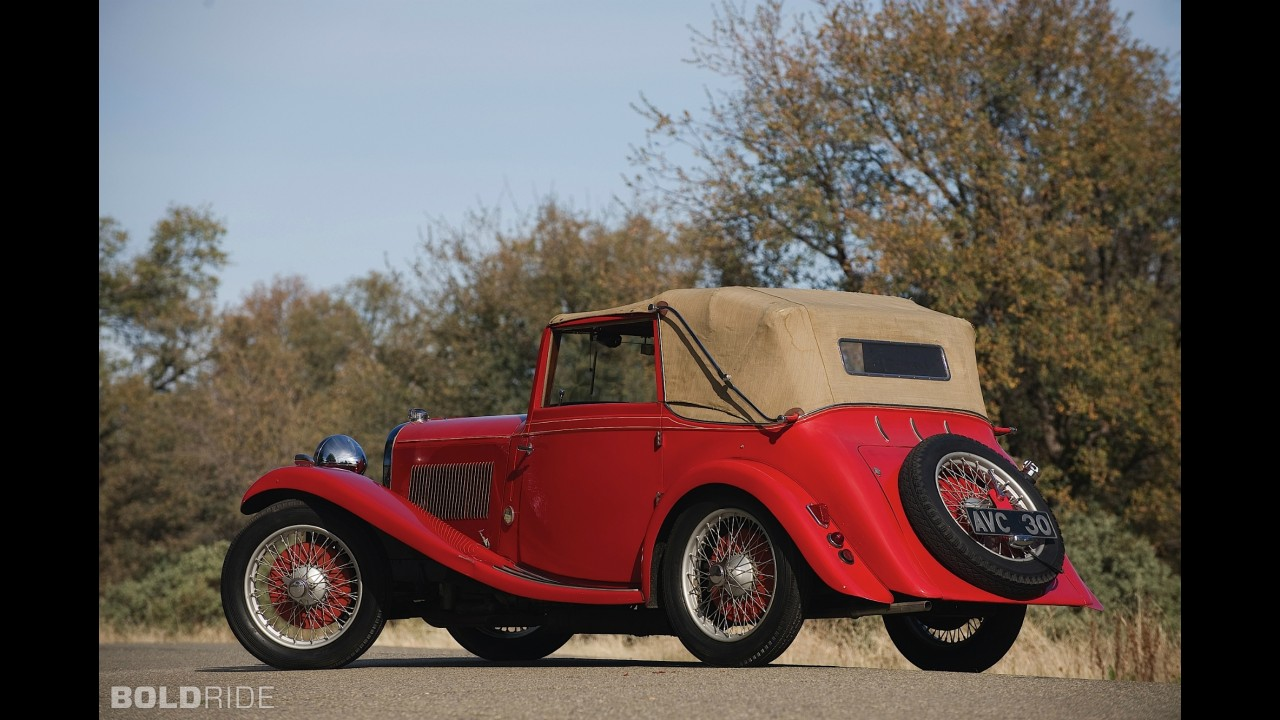 Lagonda Rapier Three-Position Drophead Coupe
