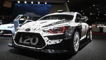 Hyundai i20 WRC challenger revealed in Paris