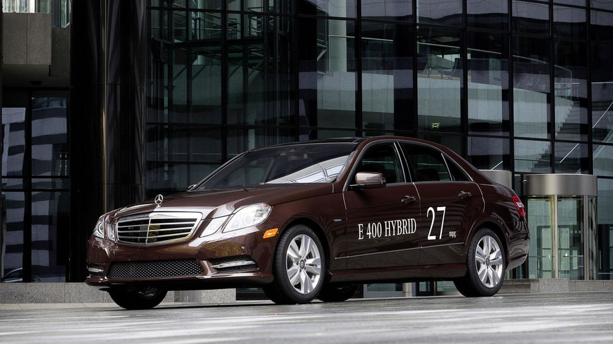 2013 Mercedes-Benz E400 Hybrid priced at $55,800 (US)