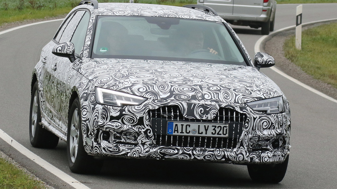 Audi A4 Allroad spy photo