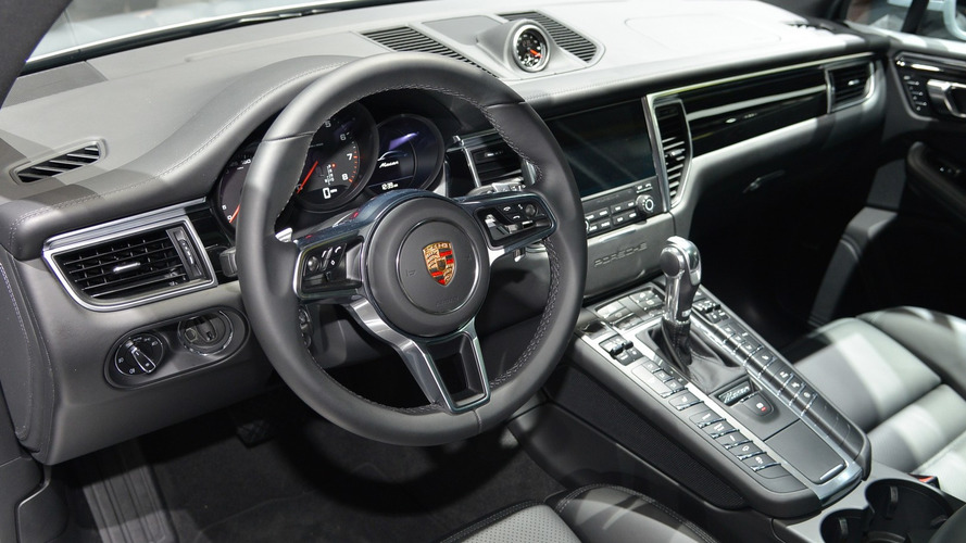 Porsche Macan with four-cylinder engine live in New York