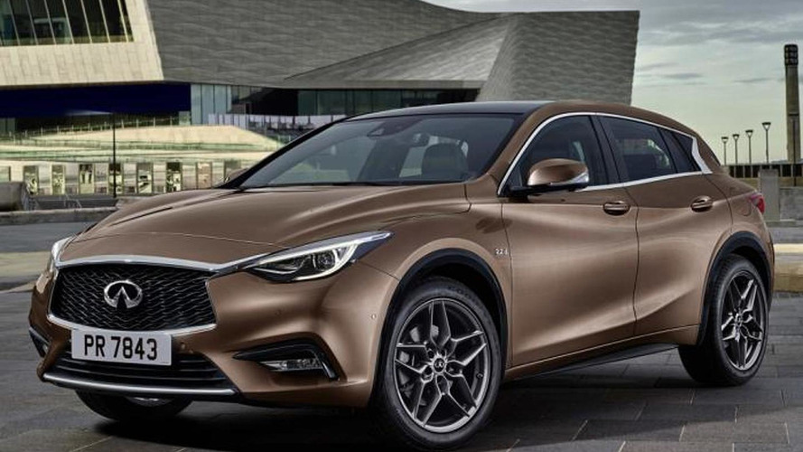 Infiniti Q30 first official image leaked
