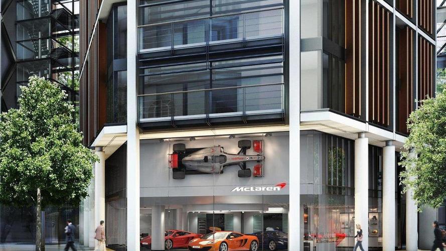 McLaren announces landmark London location for flagship showroom