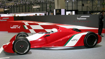 Fioravanti LF1 Racecar Concept Unveiled in Geneva