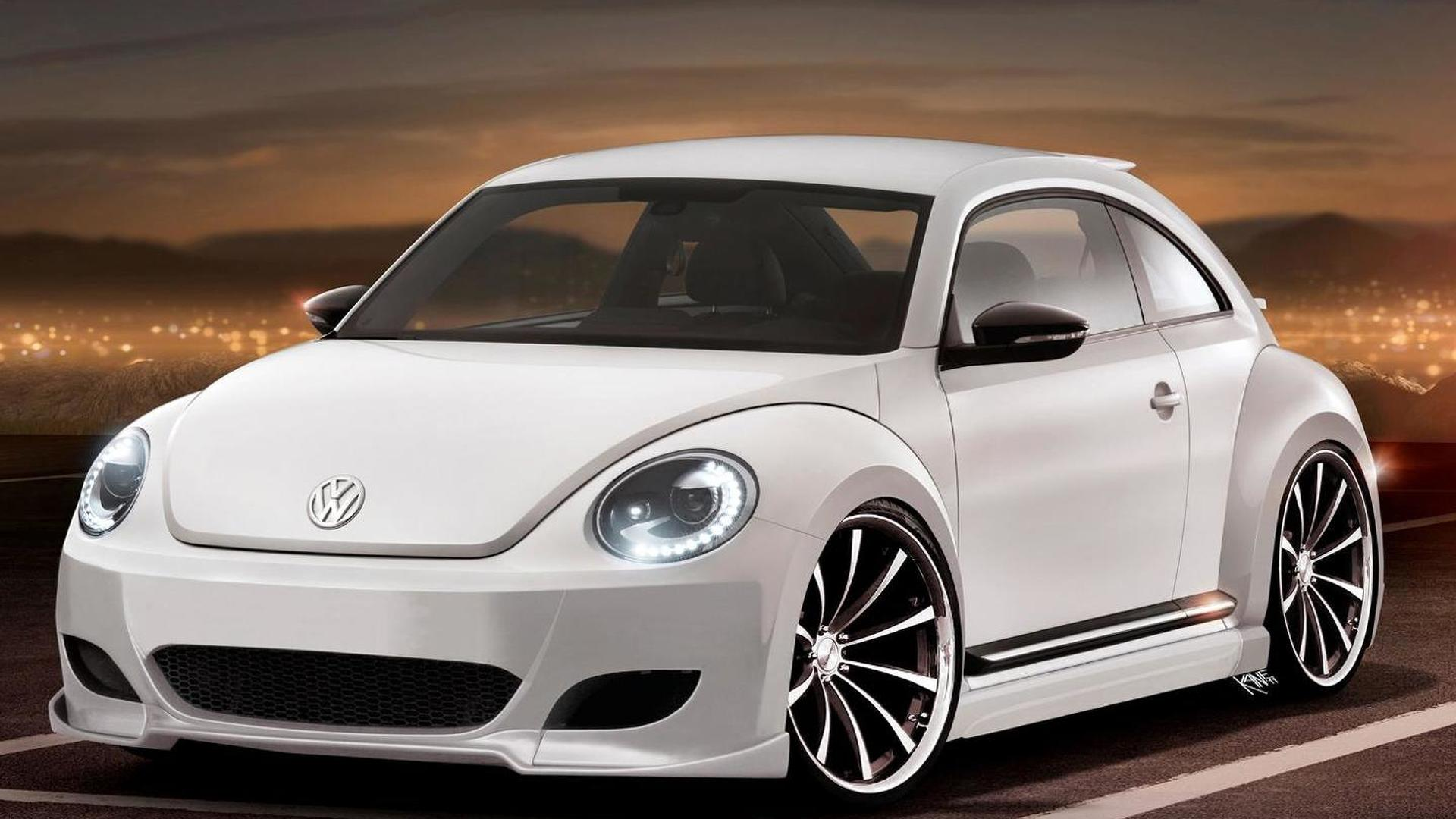 2012 Volkswagen Beetle spotted on the street [video]