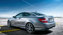 Mercedes C-Class Coupe first official photos