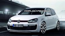 Volkswagen Golf R20T Artists Rendering