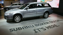 Subaru Boxer Diesel revealed in Geneva