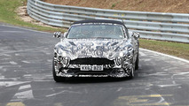 Aston Martin Vanquish Volante returns for spy photo session