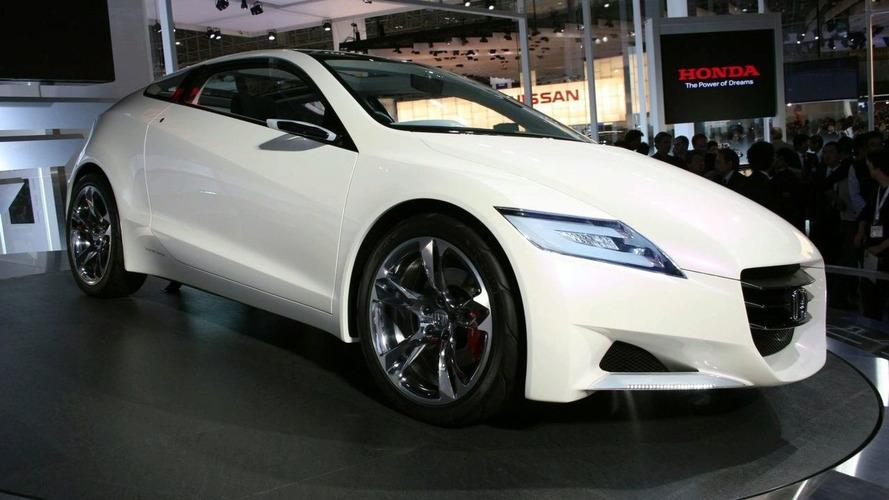 Hybrid Honda CR-Z Concept Debuts