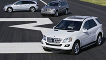 R 320 BlueTEC, ML 320 BlueTEC ja GL 320 BlueTEC