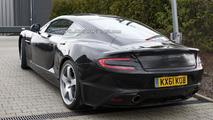 2013 Aston Martin DB9 successor spied with minimal camouflage