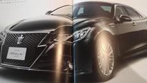 2013 Toyota Crown revealed in leaked brochure