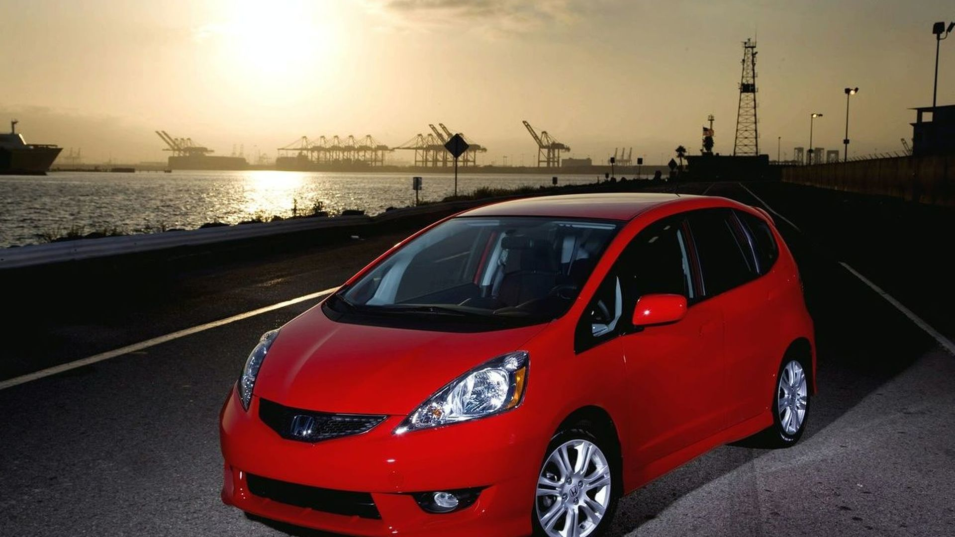 2009 honda fit pricing announced. Black Bedroom Furniture Sets. Home Design Ideas