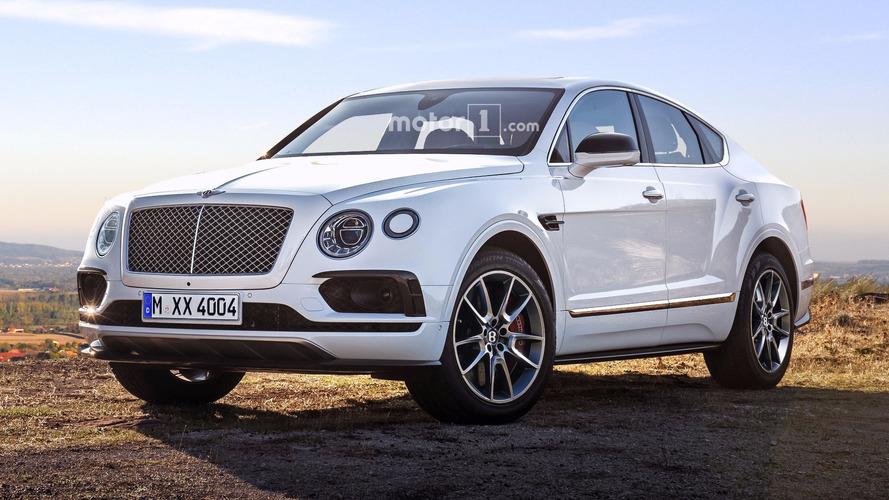Bentley Bentayga Junior and Coupe renders