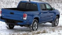 2016 Toyota Tacoma first revealing images released