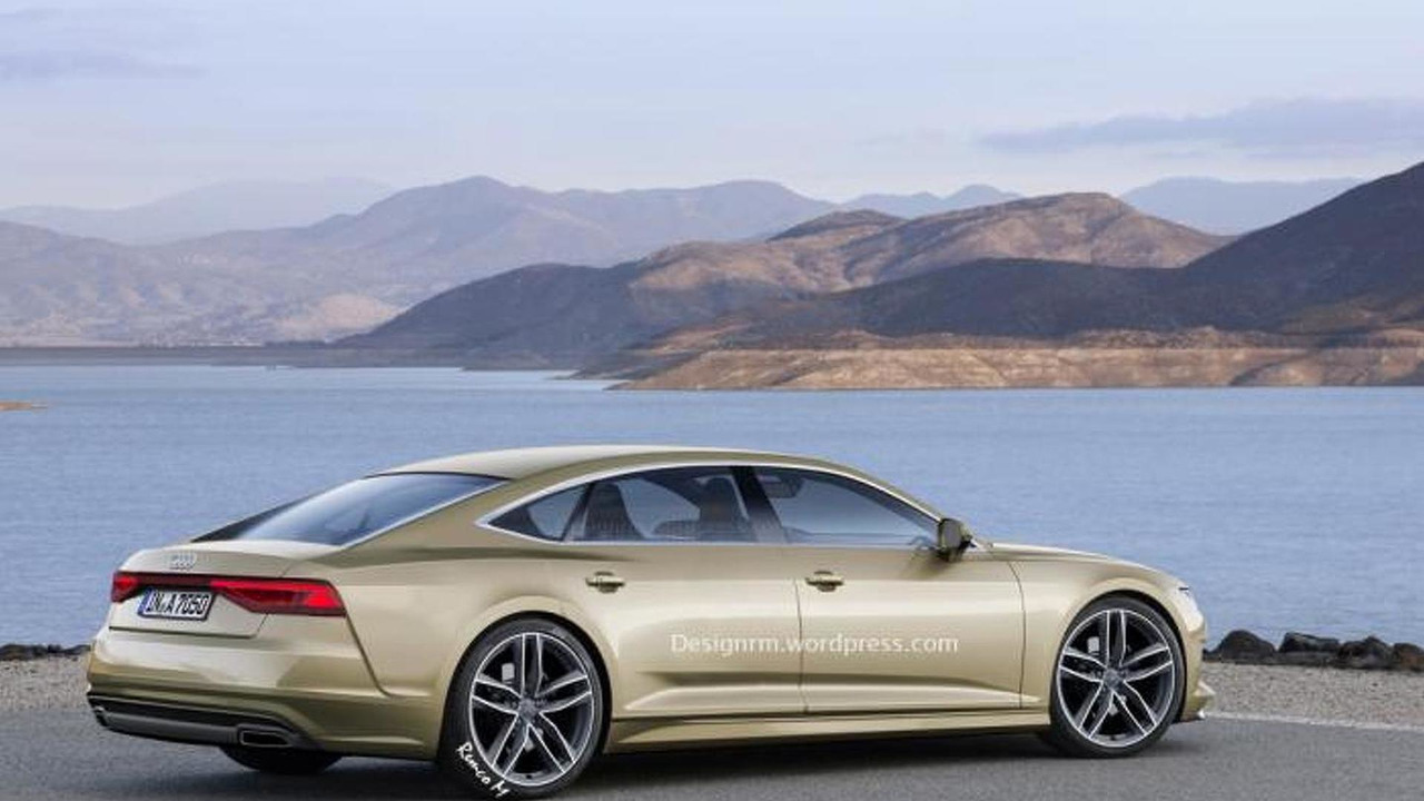 Second generation Audi A7 Sportback render