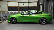BMW M6 Gran Coupe in Java Green