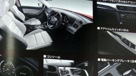 Mazda CX-5 facelift interior revealed via brochure pics