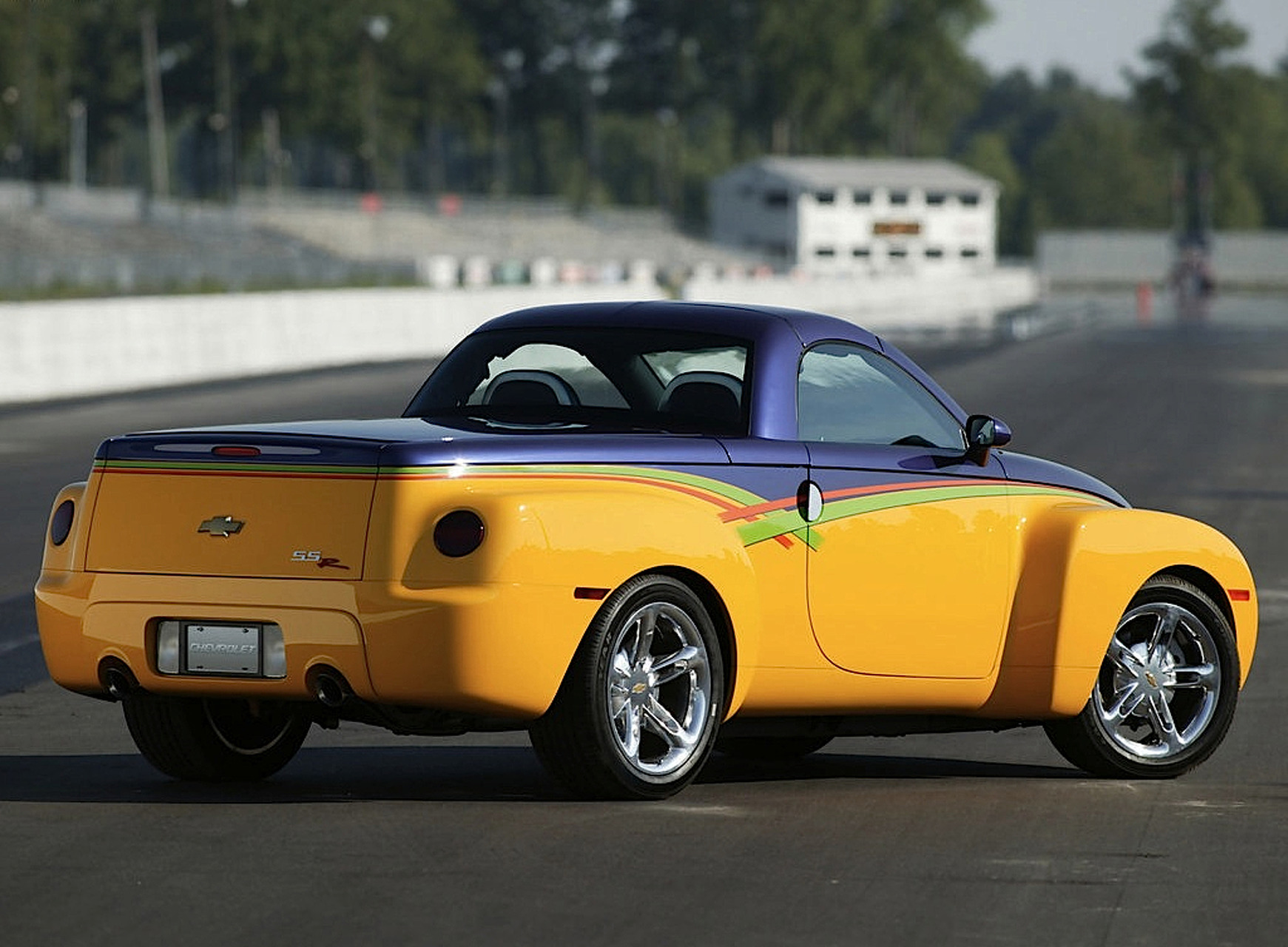 Chevrolet SSR Hot Rod Power Tour Concept