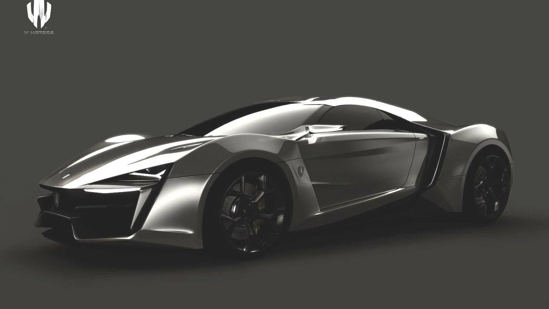 W Motors proposes first supercar from Middle East