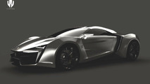 W Motors supercar design renderings 23.07.2012