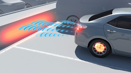 Toyota's sonar tech can stop you looking like an idiot
