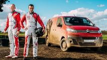 VIDÉO - Insolite, le nouveau Citroën Jumpy testé en mode WRC
