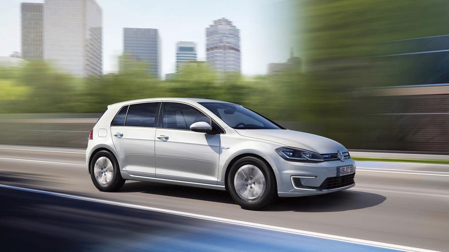 Los Angeles 2016 - La Volkswagen e-Golf restylée pointe le bout de son nez