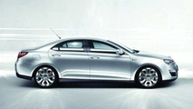 Roewe 550 Revealed Inside and Out