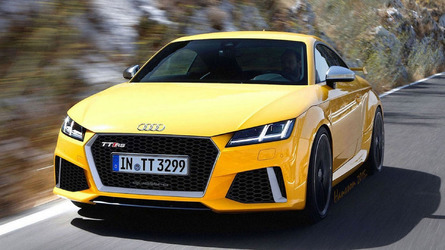 Audi TT RS to have 395 hp from five-cylinder 2.5-liter turbo?
