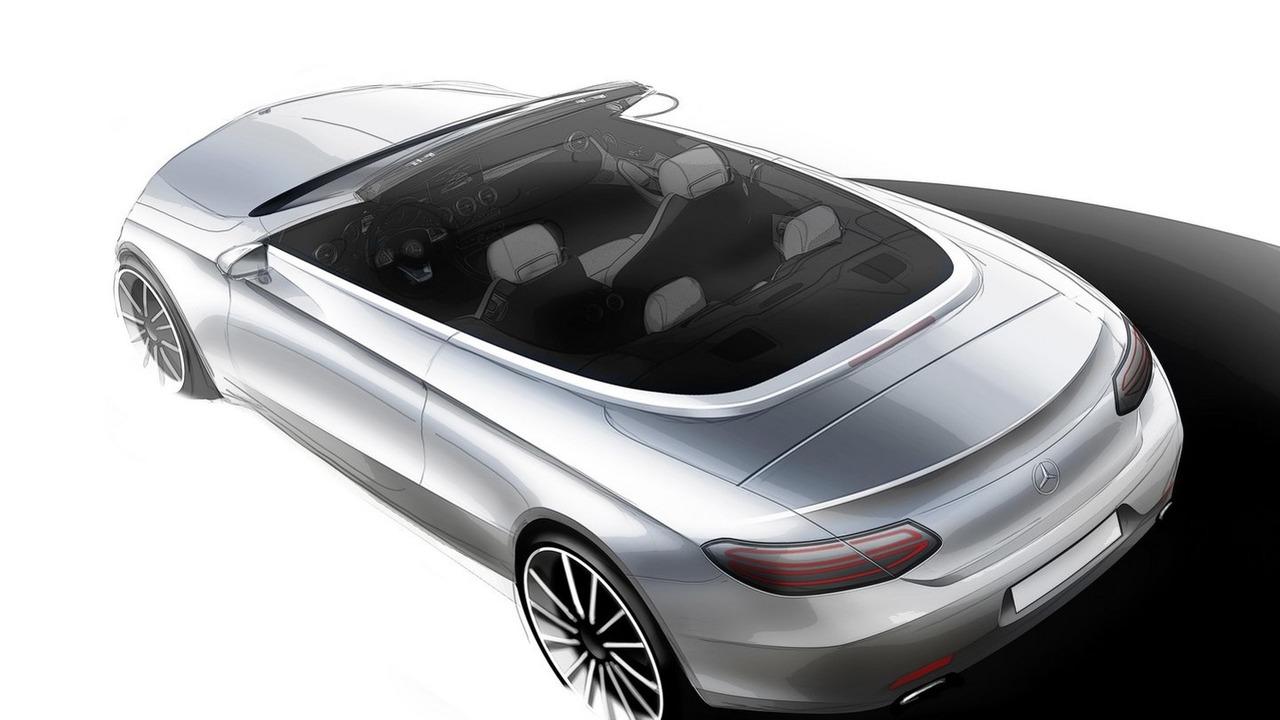 Mercedes C Class Cabriolet teaser