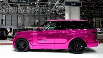 Hamann Mystere based on 2013 Range Rover at 2013 Geneva Motor Show