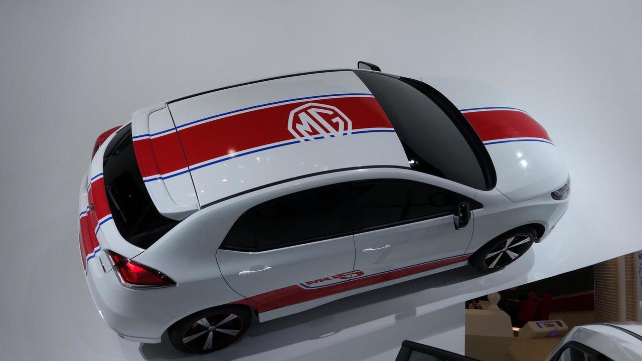 2013 Euro-spec MG3 at 2013 Auto Shanghai