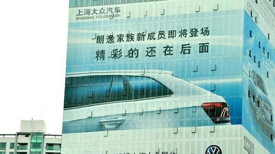 Volkswagen Lavida Variant teased before Auto Shanghai launch