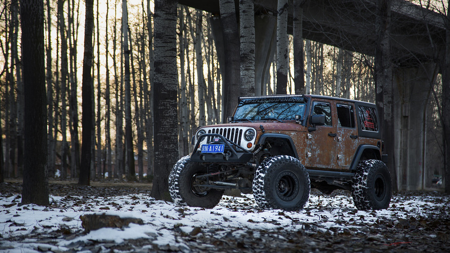 Jeep Wrangler Hunting Unlimited by Vilner is like Scotch whiskey