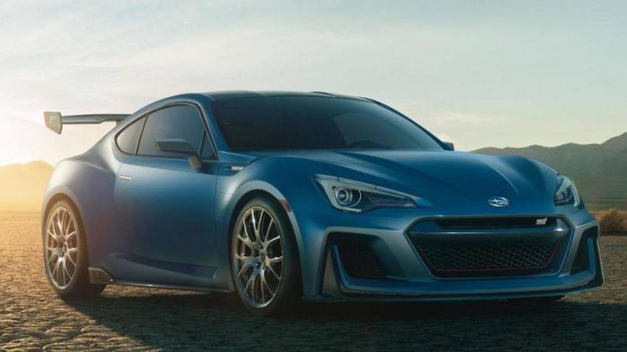 Mystery Subaru BRZ photographed at New York Auto Show
