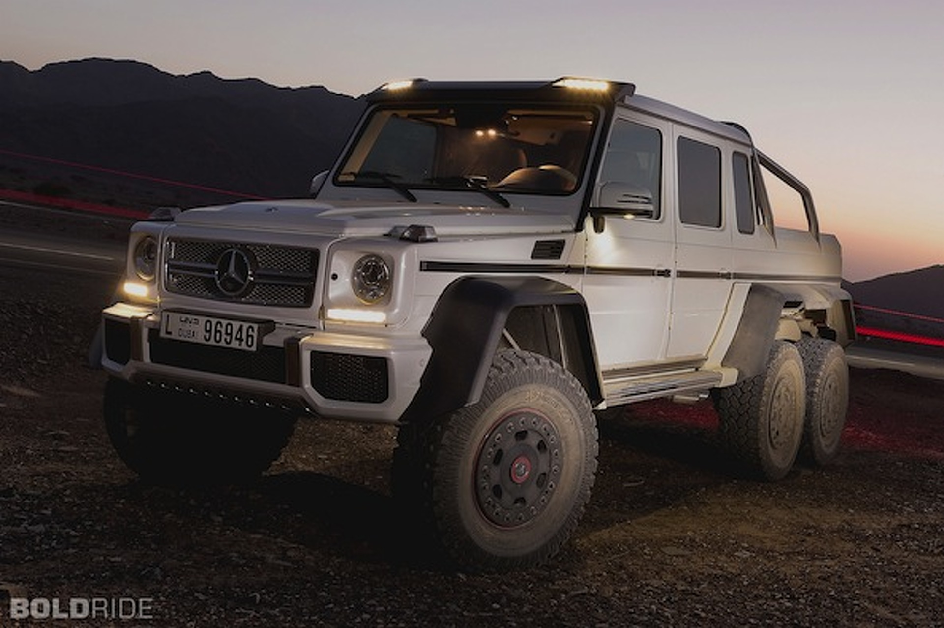 Wheels Wallpaper: Mercedes-Benz G63 AMG 6x6