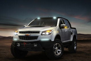 Chevy Colorado to Take on Ford Raptor with Aggressive Off-Road Package?