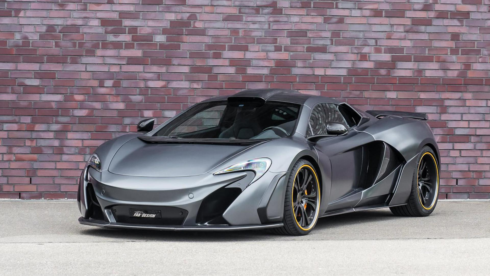 McLaren 650S receives power boost and body kit from FAB Design
