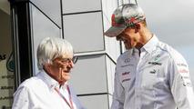 Schumacher began 'modern driver' era - Ecclestone