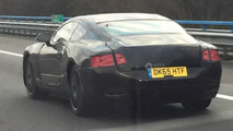 2017 Bentley Continental GT spied with production body