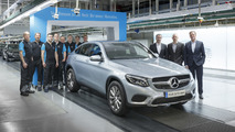 Mercedes SUV family grows as GLC Coupe production starts