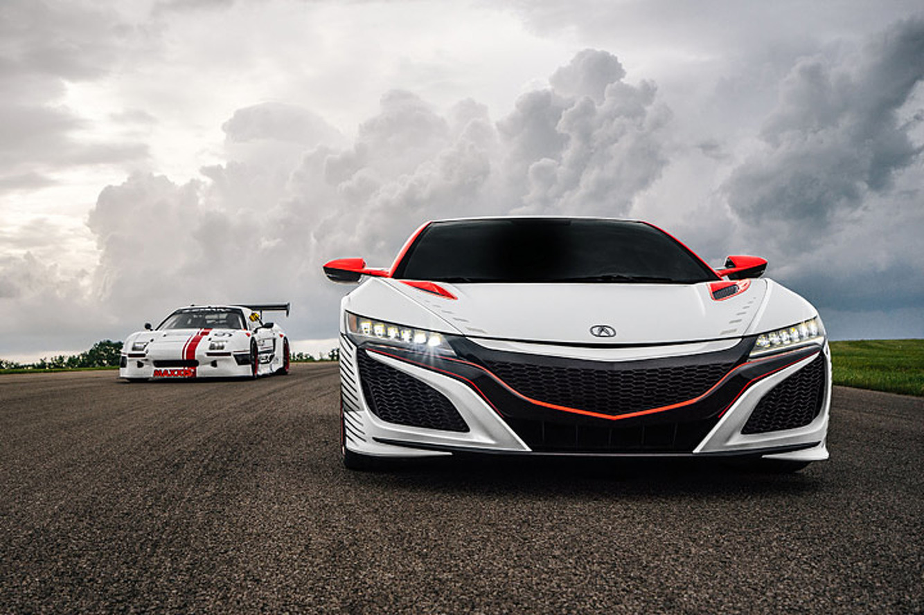 Two New Acura NSX Racers Will Challenge Pikes Peak for 2016