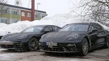 2017 Porsche Panamera loses almost all camo